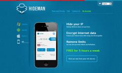 خدمة Hideman VPN