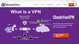 خدمة Shade You VPN
