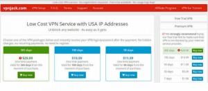 خدمة VPN Jack